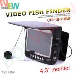 Видео рыбоискатель  - подводная  видеокамера Fishfinder для рыбалк
