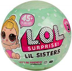 Кукла LOL Surprise 2 серия малышки, аналог