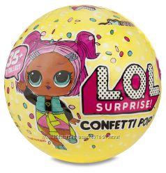 Кукла LOL Surprise Glitter, Confetty Pop, ОРИГИНАЛ