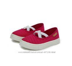 Текстильные туфли, мокасины D. D. Step - р. 20-27. Стелька кожа. Большемер