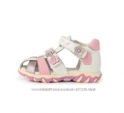 Кожаные босоножки, сандалии D. D Step 19, 20, 21р Летняя обувь. АС625-26