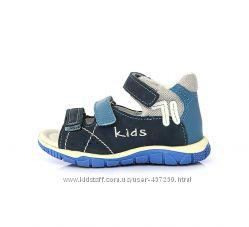Кожаные босоножки, сандалии D. D Step 19, 20р Летняя обувь. К330-8А
