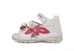 Кожаные босоножки, сандалии Ponte20, DD step. 22-27р Летняя обувь, ортопед.