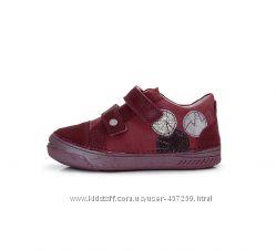 Кожаные демисезонные кроссовки, ботинки D. D. Step. р 31-36. Арт. 040-403В