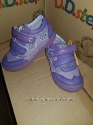 Кроссовки, ботинки, закрытые туфли D. D Step р. 25,26,29 Кожа. Арт. 040-17В