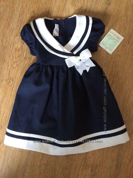 Шикарное платье Bonnie Jean - размер 4т.