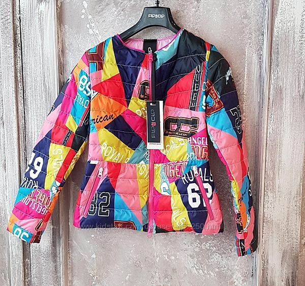 Демисезонная куртка, Италия, премиум бренд Flo Clo, размер S-M. Супер цена