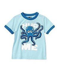 Яркая детская футболка, на 6-12 мес. Американский бренд CRAZY8.