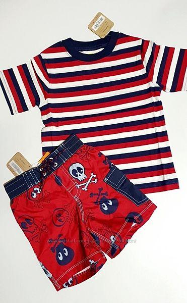 Детская футболка, шорты CRAZY8, Америка. 6-12, 12-18, 18-24 месяца.