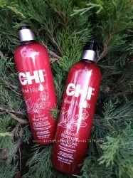 Новинка Линия защита цвета chi rose hip oil color nurture