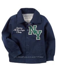 Куртка, ветровка,  жакет коттоновый Carters, р. 6 лет,