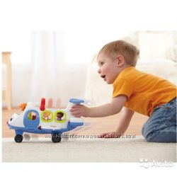 Самолет Little people Fisher Price озвучен
