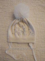 Зимние шапки на девочку