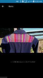Яркая куртка с вышивкой