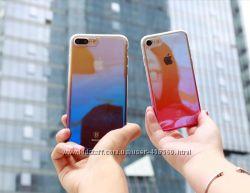 Ультратонкий чехол градиент Baseus Glaze для iPhone 6, 6s