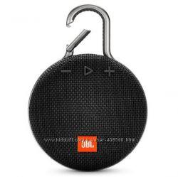 Оригинальная портативная акустика JBL Clip 3 Black Новая Гарантия