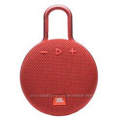 Оригинальная портативная акустика JBL Clip 3 Fiesta Red Новая Гарантия