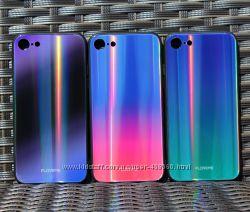 Чехол градиент Floveme Aurora Glass для Apple iPhone 7 8