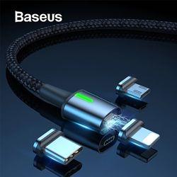 Магнитный кабель Baseus для Apple iPhone, Type-C, Micro USB