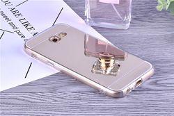 Силиконовый зеркальный чехол для Samsung Galaxy A3 2017 A320