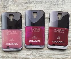 Чехлы для Samsung S4 I9500 лак Chanel, чехол накладка шанель Самсунг С4
