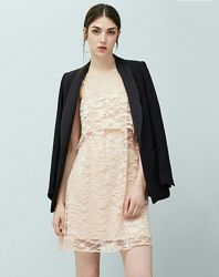 Гипюровое платье mango р. хс