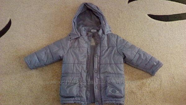 Куртка Деми тёплая на мальчика 4-6 лет. Topolino 104 см.