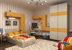 Мебель для детских и подростковых комнат на заказ
