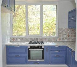 кухня на заказ фасады шпон
