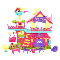 Игровой набор Клуб друзей Squinkies Squinkieville Clubhouse Playset