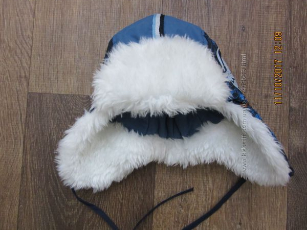 Зимова шапка для хлопчика р. 48