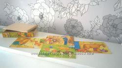 Bino Германия деревянные пазлы набор Животные Ферма