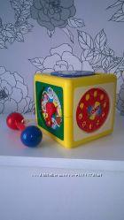 Tomy оригинал развивающая игрушка куб