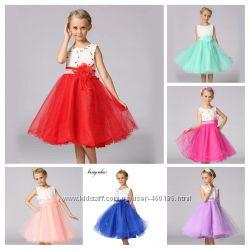 Огромный выбор моделей для принцессы Нарядное платье В Наличии