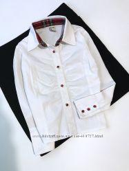 Белая рубашка 5 лет.