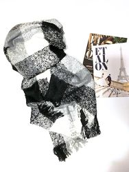 Тёплые объёмные шарфики