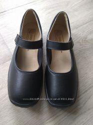 Полностью кожаные туфли Easy идеальное сост, 25, 5см
