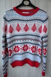 Зимний теплый свитерок