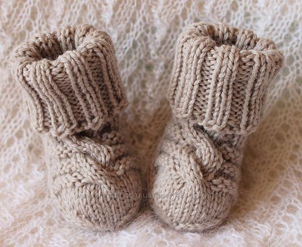 Шерстяные носочки с мериносом