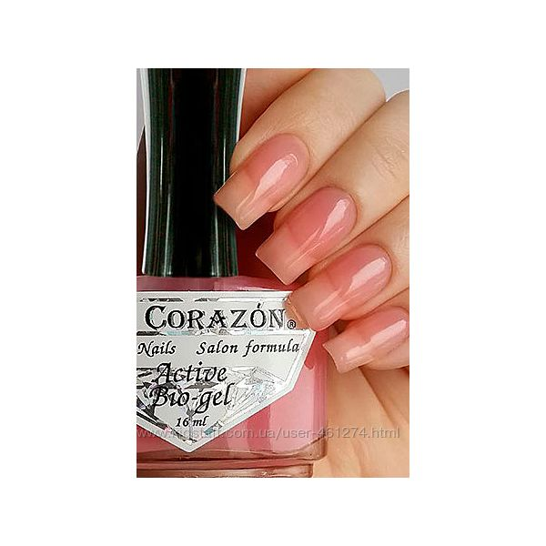 El Corazon 423 Active Bio-gel для укрепления мягких и тонких ногтей, 16мл