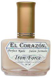 El Corazon 432 Iron Force матовый укрепитель ногтей