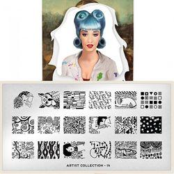MoYou London Artist 14 пластина для стемпинга