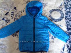 Курточка ветровка синяя Cool club на р. 110 см
