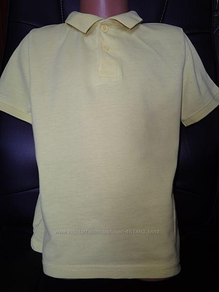 Тениска футболка жёлтая Lc Waikiki на 6-7 лет 122 см
