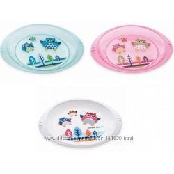 Тарелка плоская пластикова Canpol babies