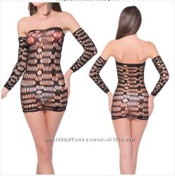 Сексуальные платья сетки Ассортимент