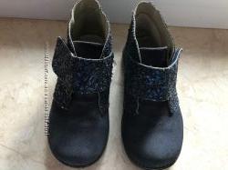 Кожаные демисезонные ботинки Испания