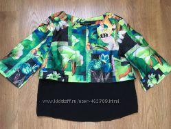 Бесподобная блузка 2 в 1, D&G, очень красивая