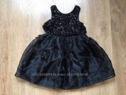 Нарядное платье Next с пайетками для красотки 6-7 лет