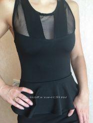 Чёрное стильное платье Англия
